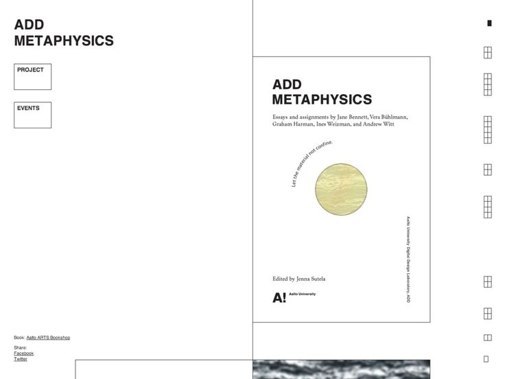 Add Metaphysics