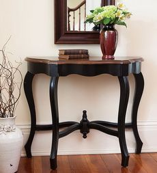 Black Hall Table 8 best hall table inspiration images on pinterest | hall tables