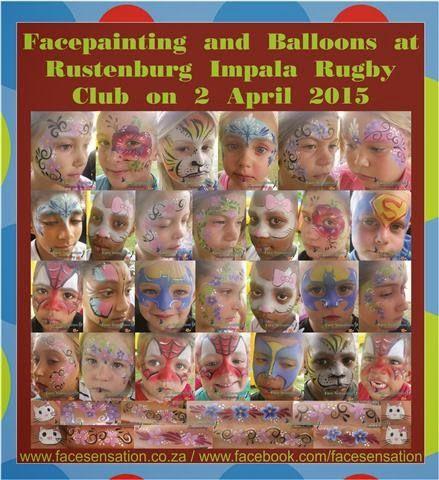 Face-Sensation Facepainting: April 2015