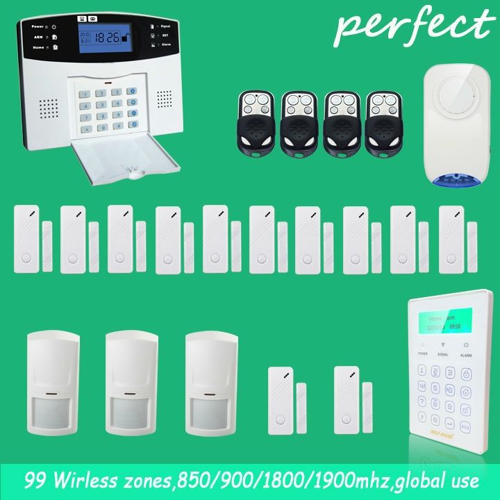 149.31$  Watch more here  - English Russian Spanish French Voice Wireless GSM Alarm system Home security Alarm systems with Sensor alarm,Wireless Siren