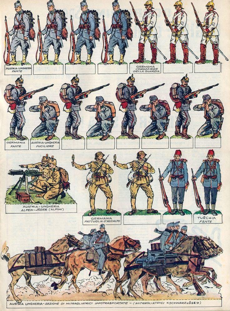 Corrierino e Giornalino: I soldati della grande guerra