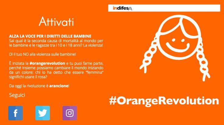 Giornata mondiale delle bambine: 11 ottobre, coloriamo il web di arancione