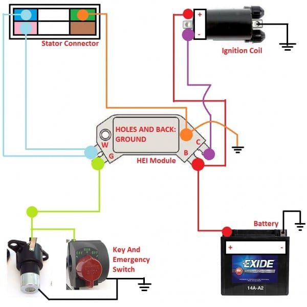 How To Gm Hei Module Ignition