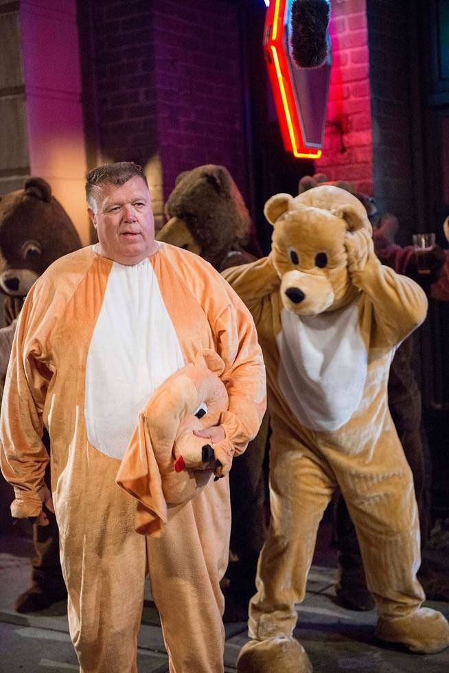 Pin for Later: TV Characters Have the Best Halloween Costumes This Year Brooklyn Nine-Nine Meanwhile, Scully (Joel McKinnon Miller) and Hitchcock (Dirk Blocker) go the furry route.