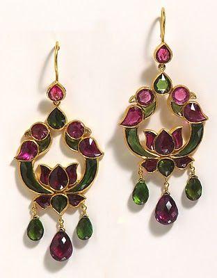 https://www.bkgjewelry.com/multi-gemstone-ring/632-18k-yellow-gold-diamond-multi-gemstone-cocktail-ring.html Topaz and gold earrings.