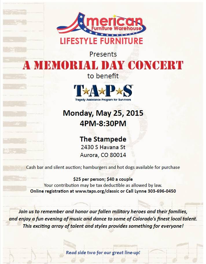 memorial day 2015 denver area