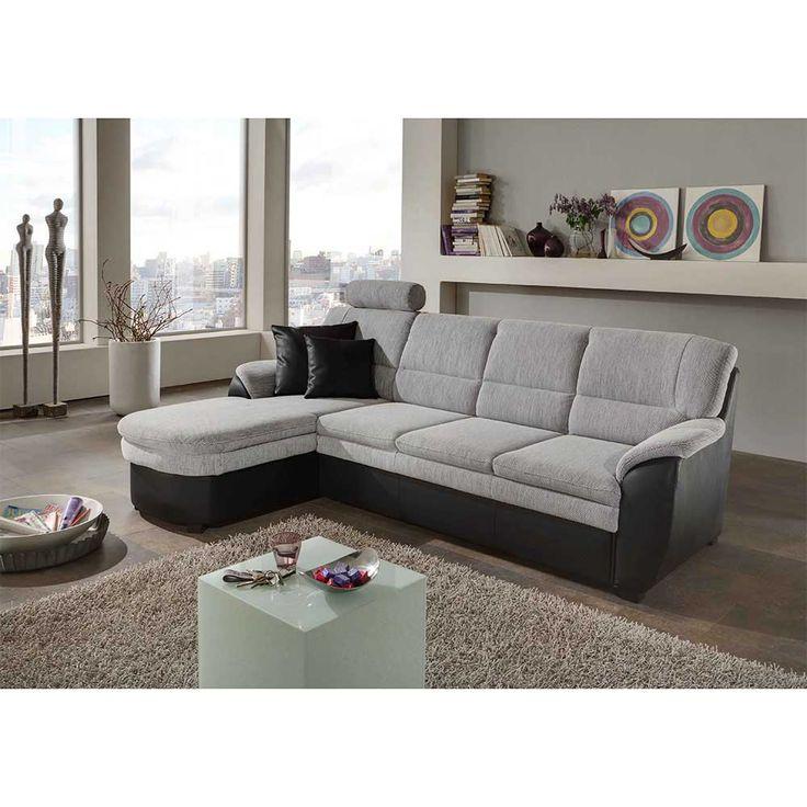 Polsterecke in Grau Schwarz Schlaffunktion Jetzt bestellen unter: https://moebel.ladendirekt.de/wohnzimmer/sofas/ecksofas-eckcouches/?uid=81d41ef0-d9bd-516f-ba09-a6c1c84d6f48&utm_source=pinterest&utm_medium=pin&utm_campaign=boards #ledercouch #sofa #couch #ecksofaseckcouches #funktionsecke #wohnl #sofas #schlafcouch #federkern #ledersofa #schaft #schlafsofa #ecksofa #wohnzimmer #eckcouch #polsterecke