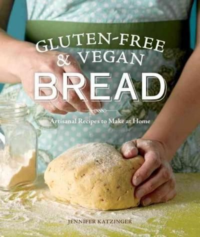 Jennifer Katzinger makes baking artisanal gluten-free and vegan breads at home simple. This cookbook contains recipes for yeasted breads, fougasse, flatbreads, sweet breads, sourdough, quick breads, s