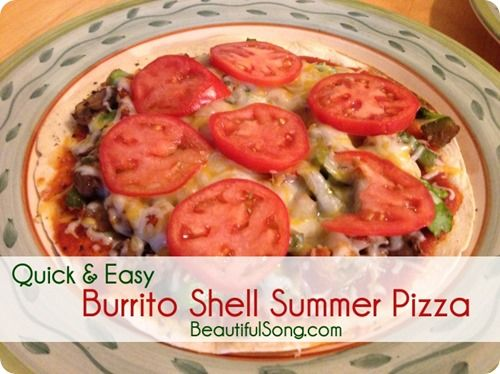 Burritos, Pizza and Shells on Pinterest