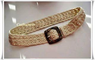 Tina's handicraft : crochet belt