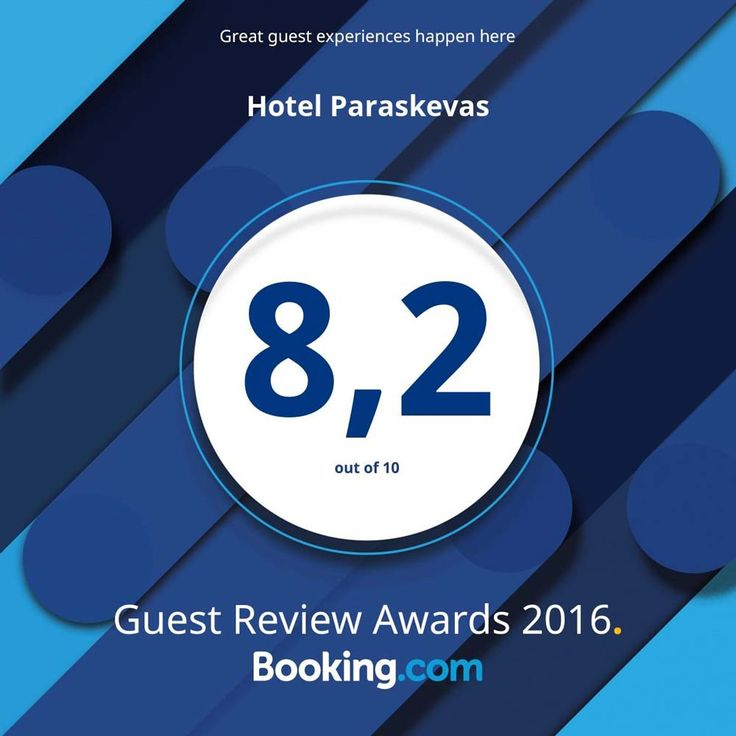 We proudly present our award from booking.com for guest experience!