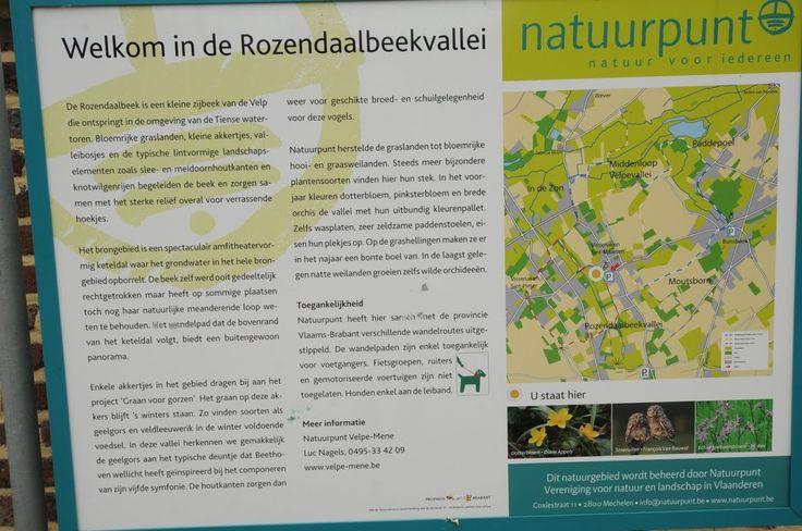 Tienen - rozendaalbeek kaart en foto's. Vertrekken aan het nieuwe Natuurhuis De Gors, Metselstraat 75, 3300 Vissenaken