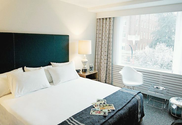 The Burrard Hotel on Burrard Street, Vancouver BC