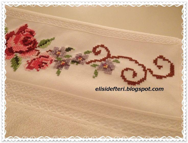 Elişi Defteri: Kaneviçe İşlemeli Havlu