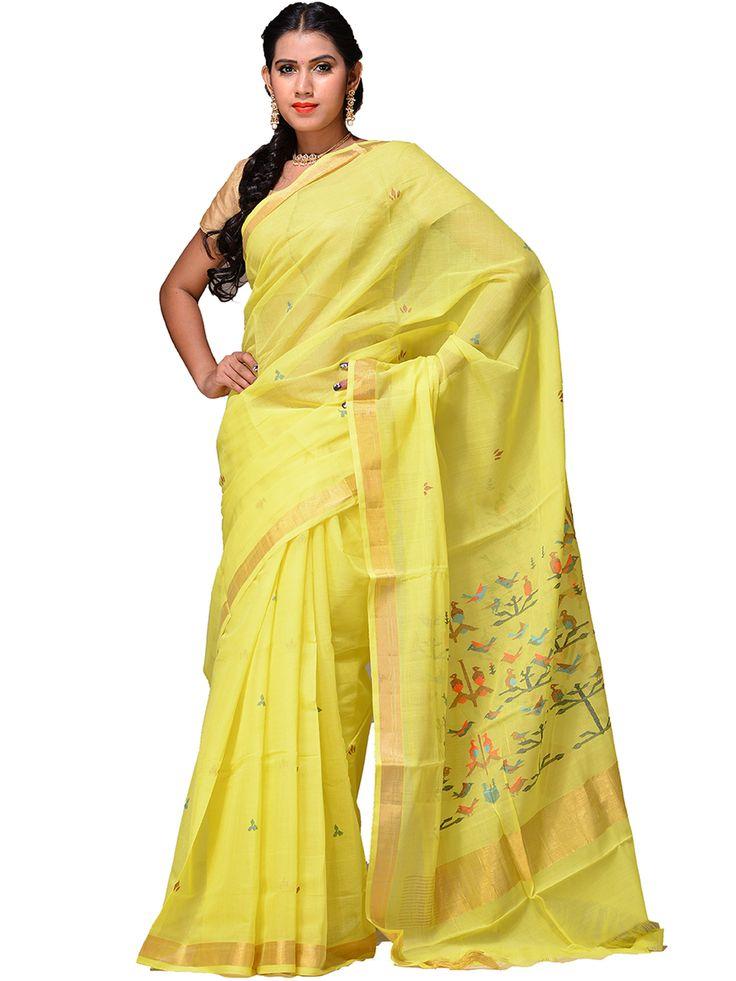 Handloom cotton Khadi Saree...kh0188a