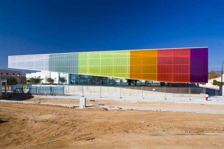 Sports Center Sa Indiotería, Palma de Mallorca, Balearic Islands Architect: Jordi Herrero - Arquitecto