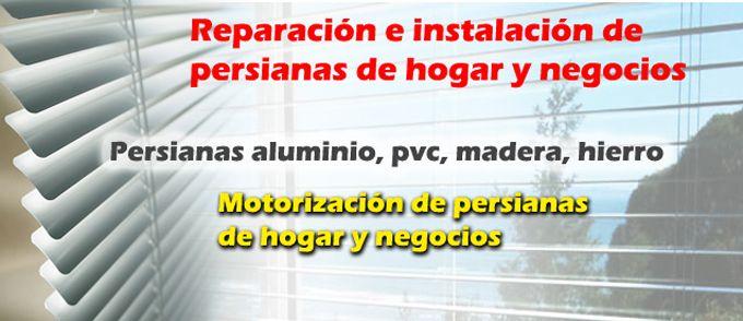 Reparación de persianas Barcelona y alrededores