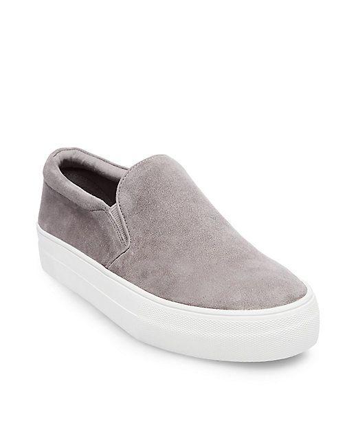 597d90fd519 size 7.5 Platform Slip-On Sneakers