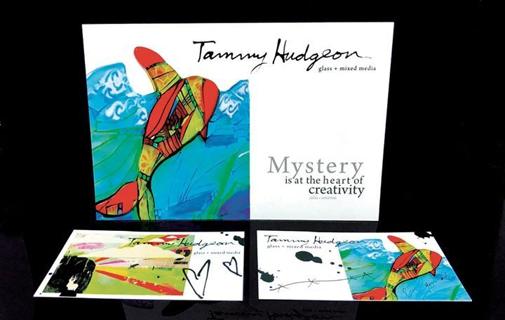 Truly making this world a brighter and colourful place, Tammy Hudgeon of Tammy Hudgeon Wild Spirit Studio creates glass & mixed media art from Gabriola Island. She printed these 16pt postcards and business cards with a high gloss coating that capture her wild and soulful artwork with saturated colours beautifully. www.tammyhudgeon.com