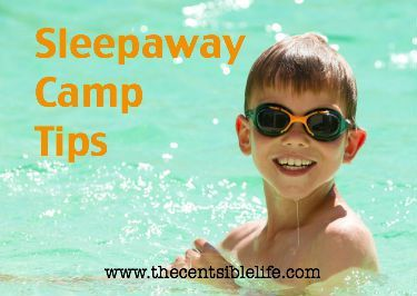 Sleepaway Camp Tips and Packing List