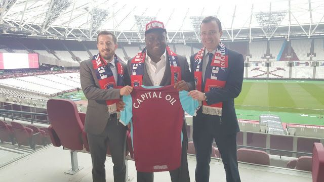 GOSSIP, GISTS, EVERYTHING UNLIMITED: West Ham United Signs Partnership Deal With Capita...