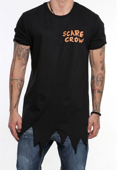 scarecrow black #vagrancylifestyle #handmade #tops #man