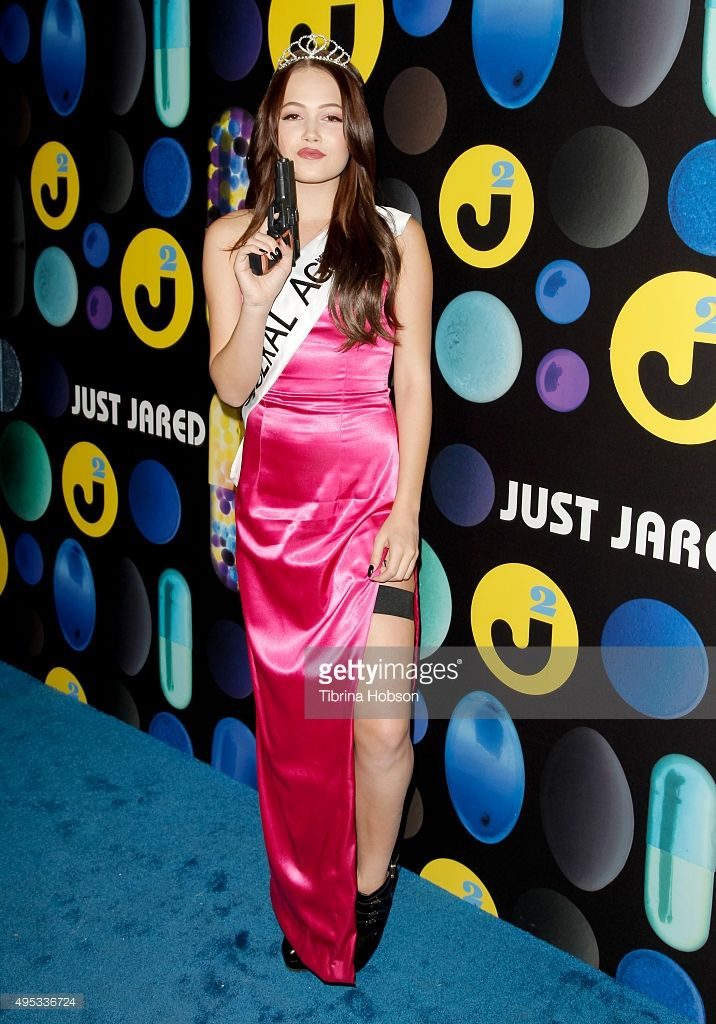 Kelli Berglund attends the Just Jared Halloween Party at No Vacancy on October 31, 2015 in Los Angeles, California.