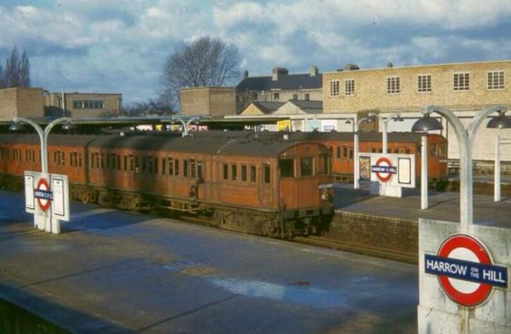 Harrow on the Hill Station 1951
