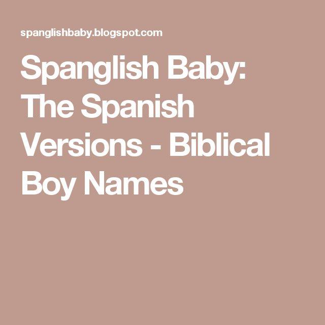 Spanglish Baby The Spanish Versions