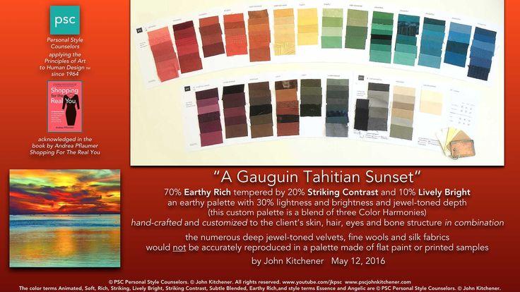 John Kitchener Color Analysis