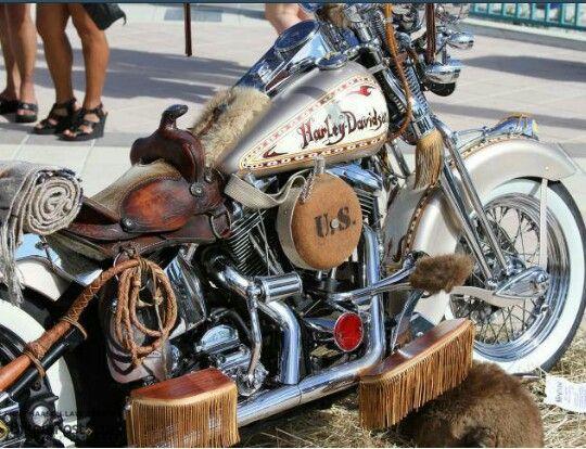Harley Davidson Cowboy Motos Pinterest Harley