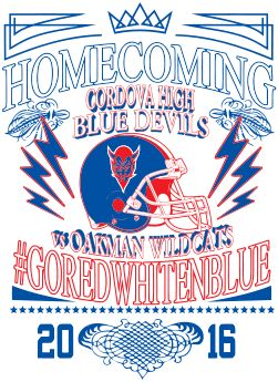 IZA DESIGN Homecoming Shirts.  Custom Homecoming T-Shirt Design - Exciteable (desn-433f1).  Specializing in alumni homecoming tshirts for over 30 years.