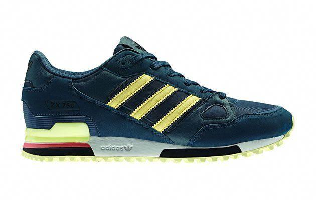 adidas Originals ZX 750 – Green   Yellow  sneakers  kicks  b91728f0df90