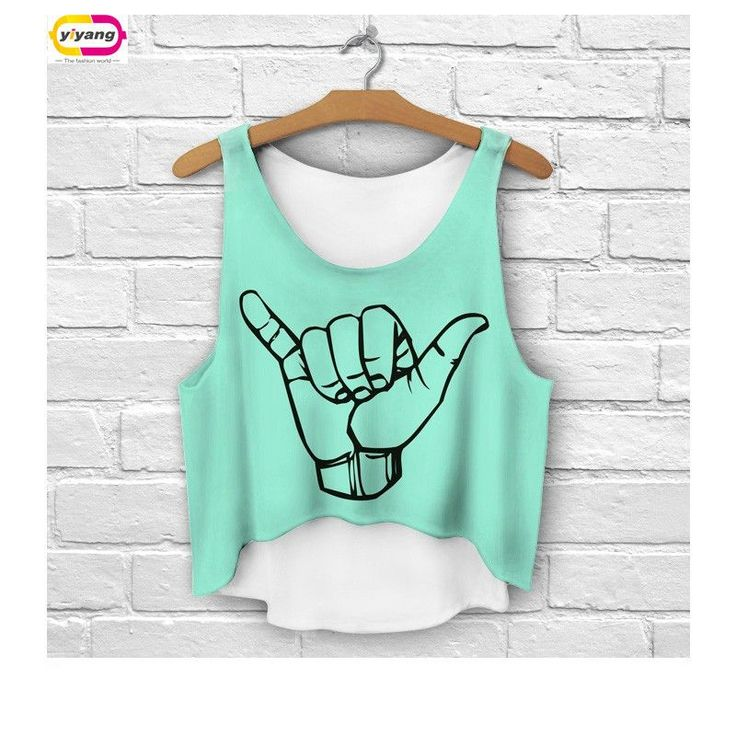 Multi Colors T-Shirts 3D Print women tank tops camis print camisoles & tanks girls short crop top tees irregular lh68 $17.97   #dress #instafashion #beautiful #cute #swag #beauty #fashion #streetstyle #love #cool #iwant #vintage #sweet #stylish #style