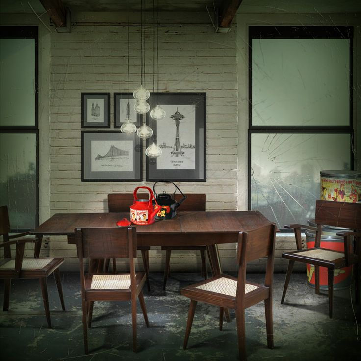 Dinning table Set Retro