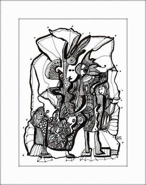 HäkelBild IV von Etelka Kovacs-Koller - mad for art auf DaWanda.com