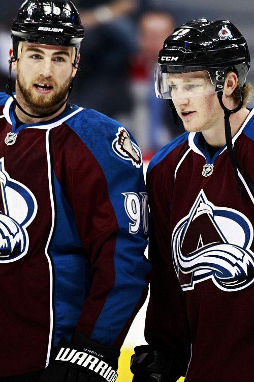 Ryan O'Reilly and Nathan MacKinnon, Colorado Avalanche