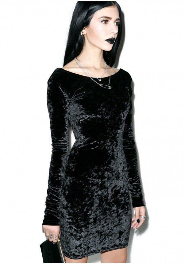 25  best ideas about Black velvet dress on Pinterest | Black ...