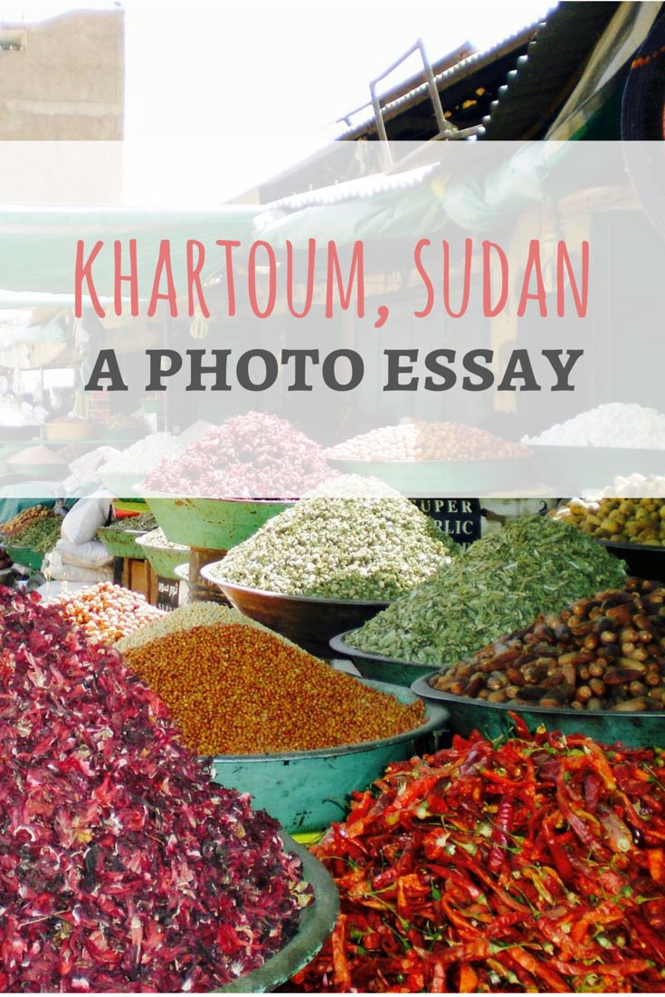 Food markets in Khartoum, Sudan