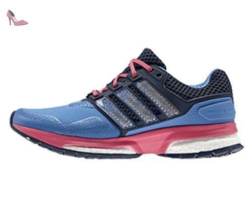adidas Duramo 7 Trail W - Chaussures de Course pour Femme, Noir, Taille: 36 2/3