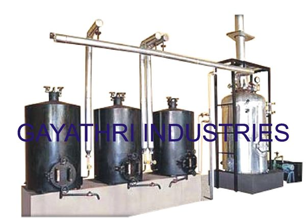 SIB Boiler With Three Cookers  http://www.cashewmachine.in/cashew-cooking-system.html