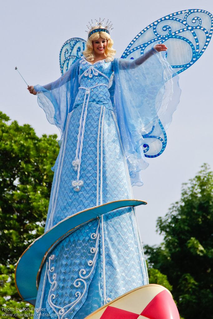 Blue Fairy at Disney Character Central | Disney Park ...