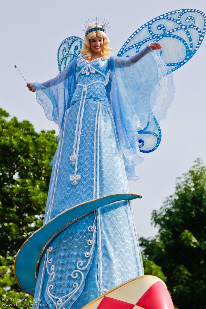 Blue Fairy at Disney Character Central | Disney Park ...  Blue Fairy at D...