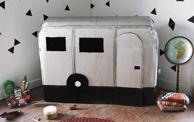 A camper playhouse.