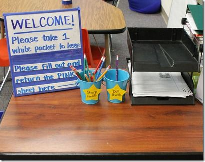 15 Best Open House Night Images On Pinterest Classroom Ideas
