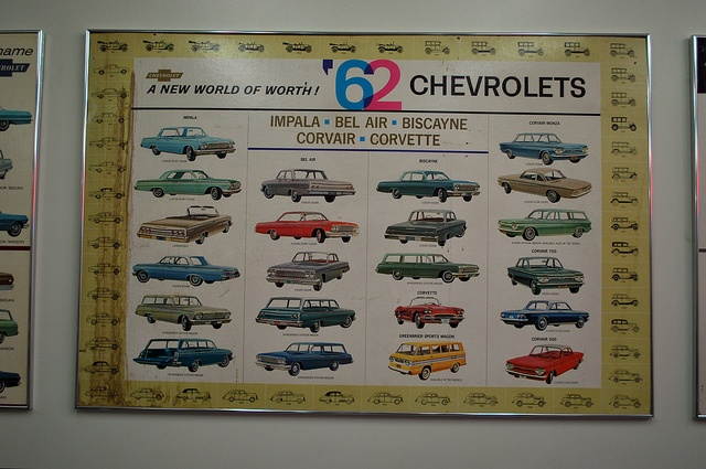 Vintage #Chevy Lineup for 1962 - LindsayChevrolet.com #Chevrolet