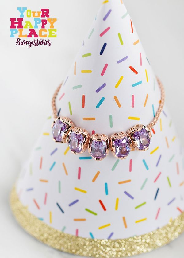 Treat yourself with a bracelet that's perfectly purple! #Sweepstakes [Promotional Pin] #Sweepstakes