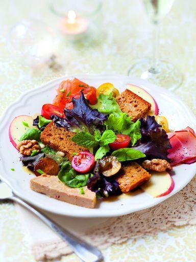 Salade de Noël : Recette de Salade de Noël - Marmiton