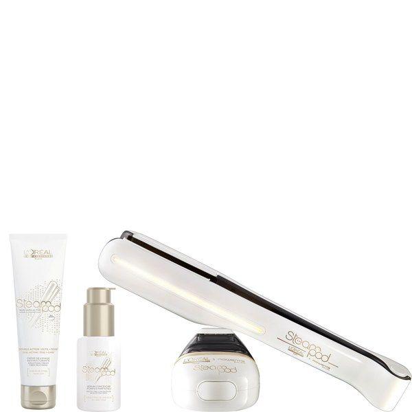 L'Oréal Professionnel Steampod 2.0 coffret lisseur, sérum thermoprotecteur (50ml) et lait de lissage repulpant (150ml)