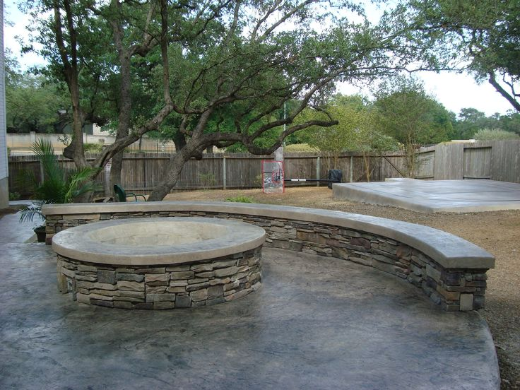 Patio ideas on a budget patio ideas 2592x1944 flagstone for Patio ideas with fire pit on a budget